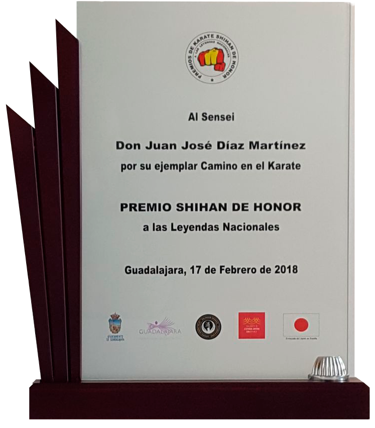 Premio Shihan de Honor